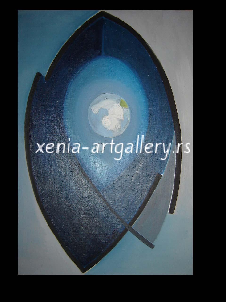 1 Fish, oil, canvas 70x50cm