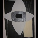 12 Star-allegro, oil, canvas 54x40 cm