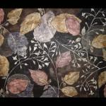 16 Drawing, India ink, charcoal, toner 70x100 cm