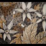 18 Drawing, India ink, charcoal, toner 50x65 cm