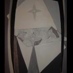 1 Star-allegro, oil, canvas,71x51 cm