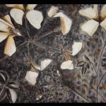 20 Drawing, India ink, charcoal, toner 50x65 cm