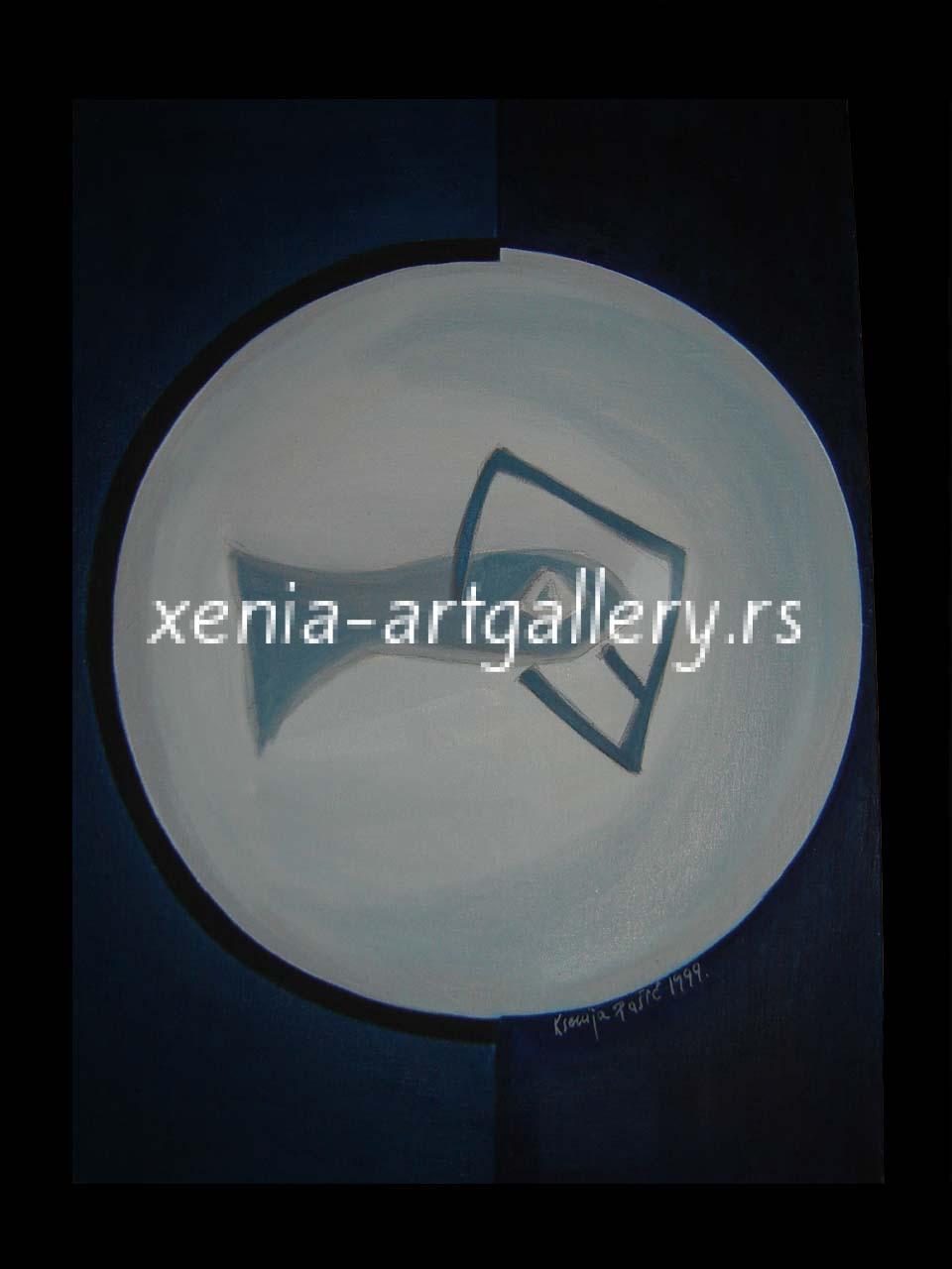 3 Fish, oil, canvas 70x50cm