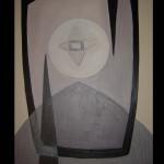 4 Star-allegro, oil, canvas 71x51 cm