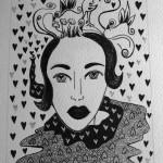 5 Birdla, india ink, paper 12x18 cm