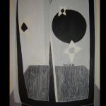 6 Star-allegro, oil, canvas 71x51 cm