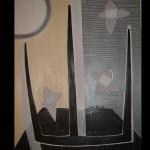 7 Star-allegro, oil, canvas 71x51 cm