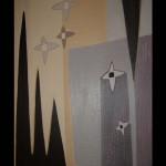 9 Star-allegro, oil, canvas 71x51 cm