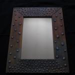 10 Wooden frame, combined technique, oil 40x32 cm