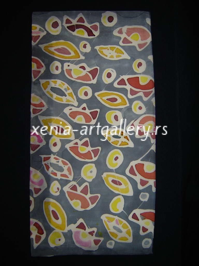 7 Paintings on Silk