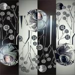 26 modelling material, paint for porcelain, 6x6x4 cm